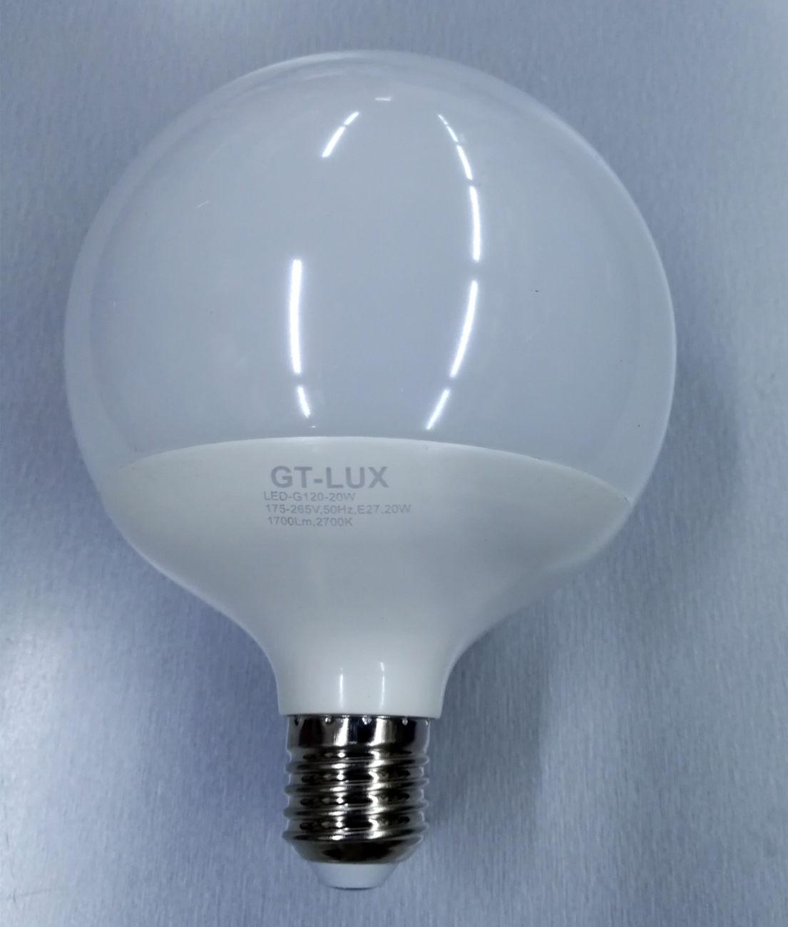 10 LAMPADE BULBO A60 LED E27 12W = 80W LED CALDA NATURALE FREDDA GT-LUX