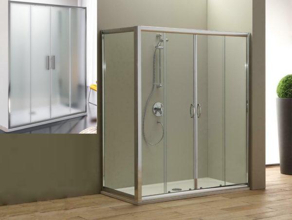 box doccia laterale grande