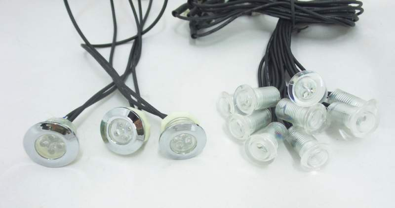 CIELO STELLATO PUNTI LUCE LED INTERNO IP65 LUCE FREDDA BLU RGB
