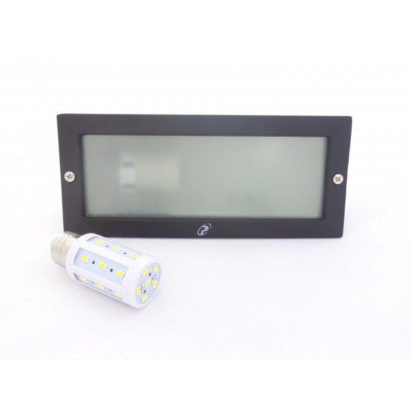 SEGNAPASSO DA ESTERNO  DEBORA IP44 CON LAMPADA LED E27 5W INCLUSA