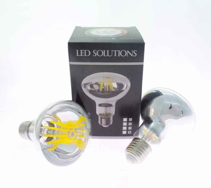 LAMPADA R80 E27 8W LED FILAMENTO