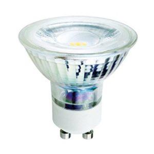 V-TAC LAMPADA LED GU10 5W VETRO  LUCE CALDA-NATURALE-FREDDA  SKU 1645-1646-1647