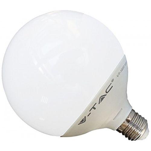 V-TAC LAMPADA LED E27 GLOBO G120 18W=115W LUCE CALDA-NATURALE-FREDDA SKU 4433-4434-4435