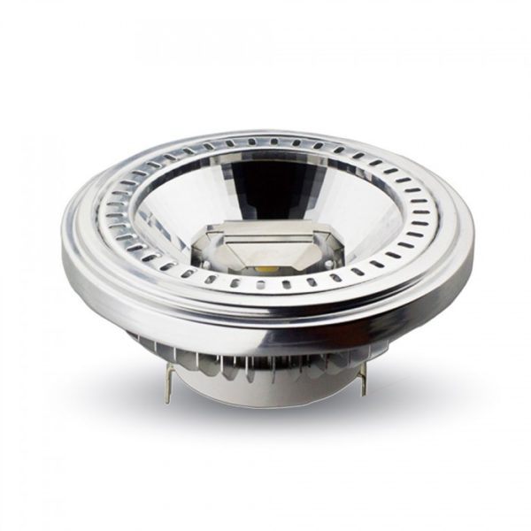 V-TAC LAMPADA LED AR111 15W 12V 20° LUCE CALDA-NATURALE-FREDDA SKU 4084-4062-4061