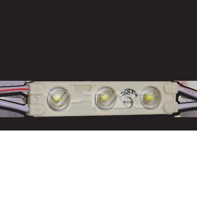 V-TAC MODULO VT-28353 3 LED 1W 12V MONOCOLORE IMPERMEABILE – SKU 5121 – 5122 – 5123